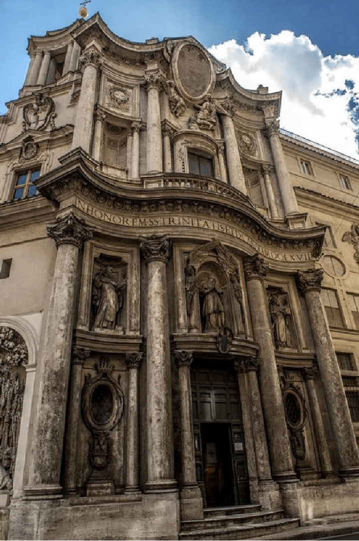 20 Buildings in Europe Every Architect must visit - San Carlo Alle Quattro Fontane, Rome, Italy