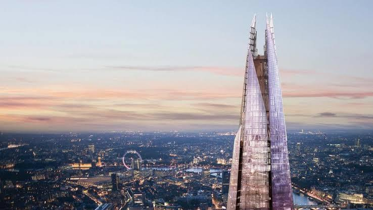 20 Buildings in Europe Every Architect must visit - Shard, London, UK
