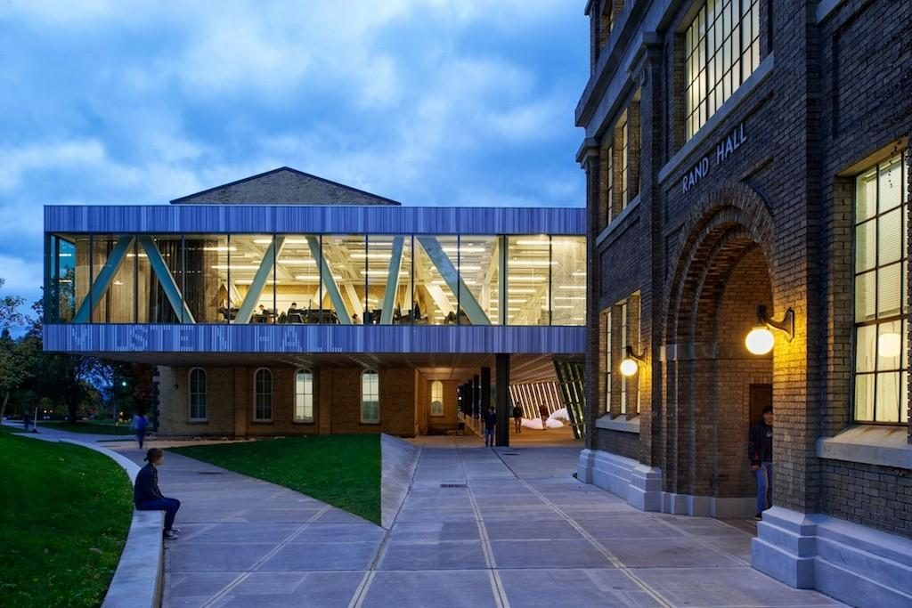 20 Works of Rem Koolhaas Every Architect should visit - Milstein Hall at Cornell University