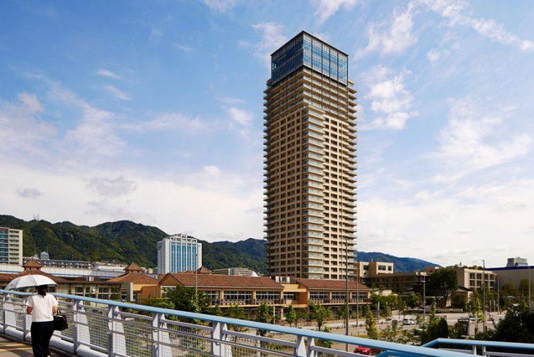 The New Sun City Kobe Tower By Richard Beard Architects
