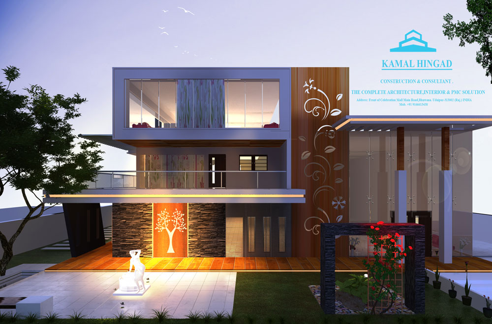 Top 15 Architecture Firms in Udaipur - Kamal Hinged Construction & Consultant Pvt. Ltd.