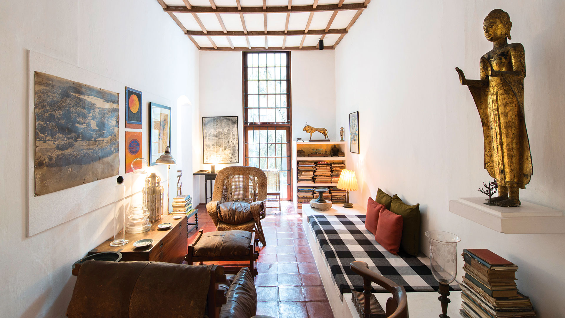 10 Projects by Geoffrey Bawa that made him the pioneer of Tropical Modernism - Geoffrey Bawa's Town House, Sri Lanka