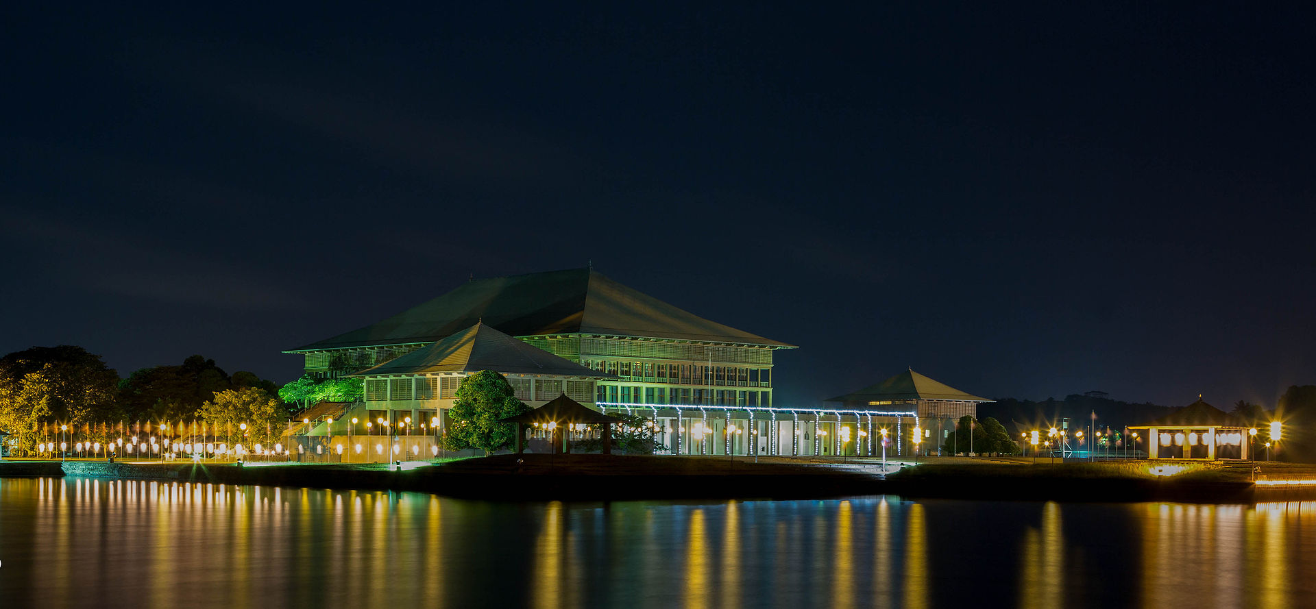 10 Projects by Geoffrey Bawa that made him the pioneer of Tropical Modernism - Sri Lankan Parliament Complex, Sri Lanka