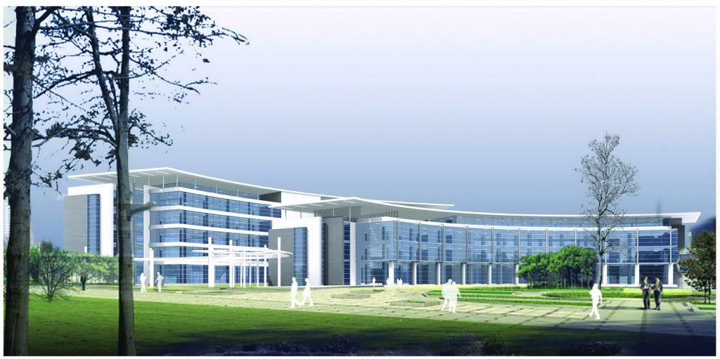 3d view of the structure - GE Campus