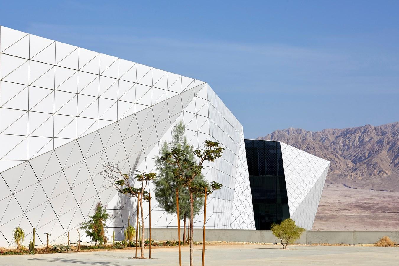 Ilan and Asaf Ramon International Airport by Mann-Ami Shinar Architects + Moshe Zur Architects