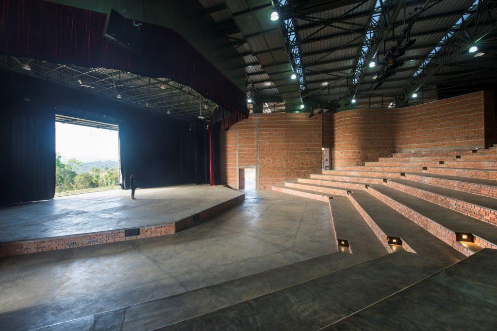 Auditorium in Agastya International Foundation By Mistry Architects