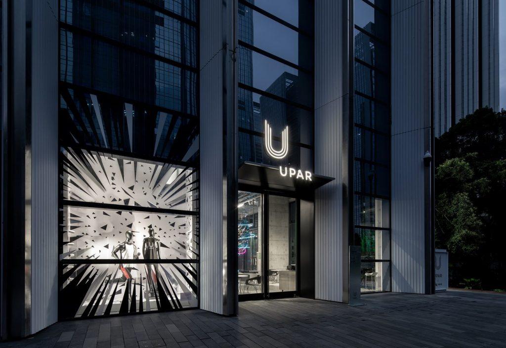 UPAR Flagship Store Lighting Design By GD-Lighting Design