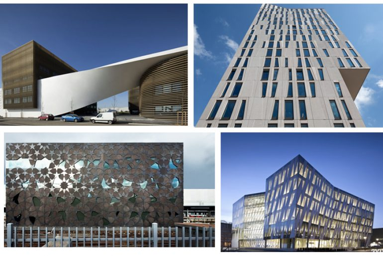 20 Creative Building Façades for Commercial Buildings around the World