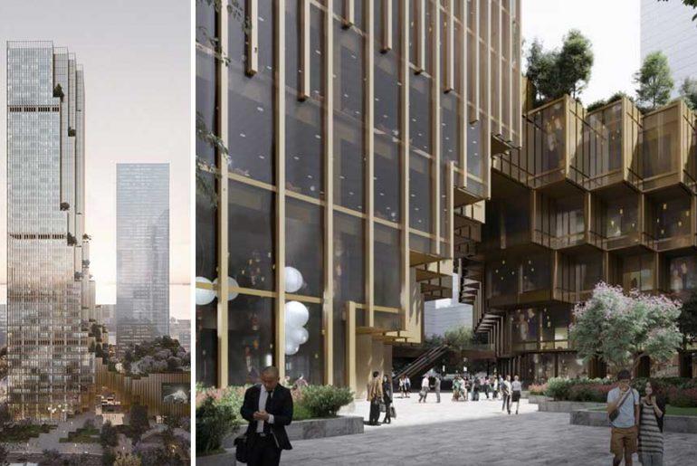 Hengli International Headquarters in Shenzhen By Mecanoo Architecten