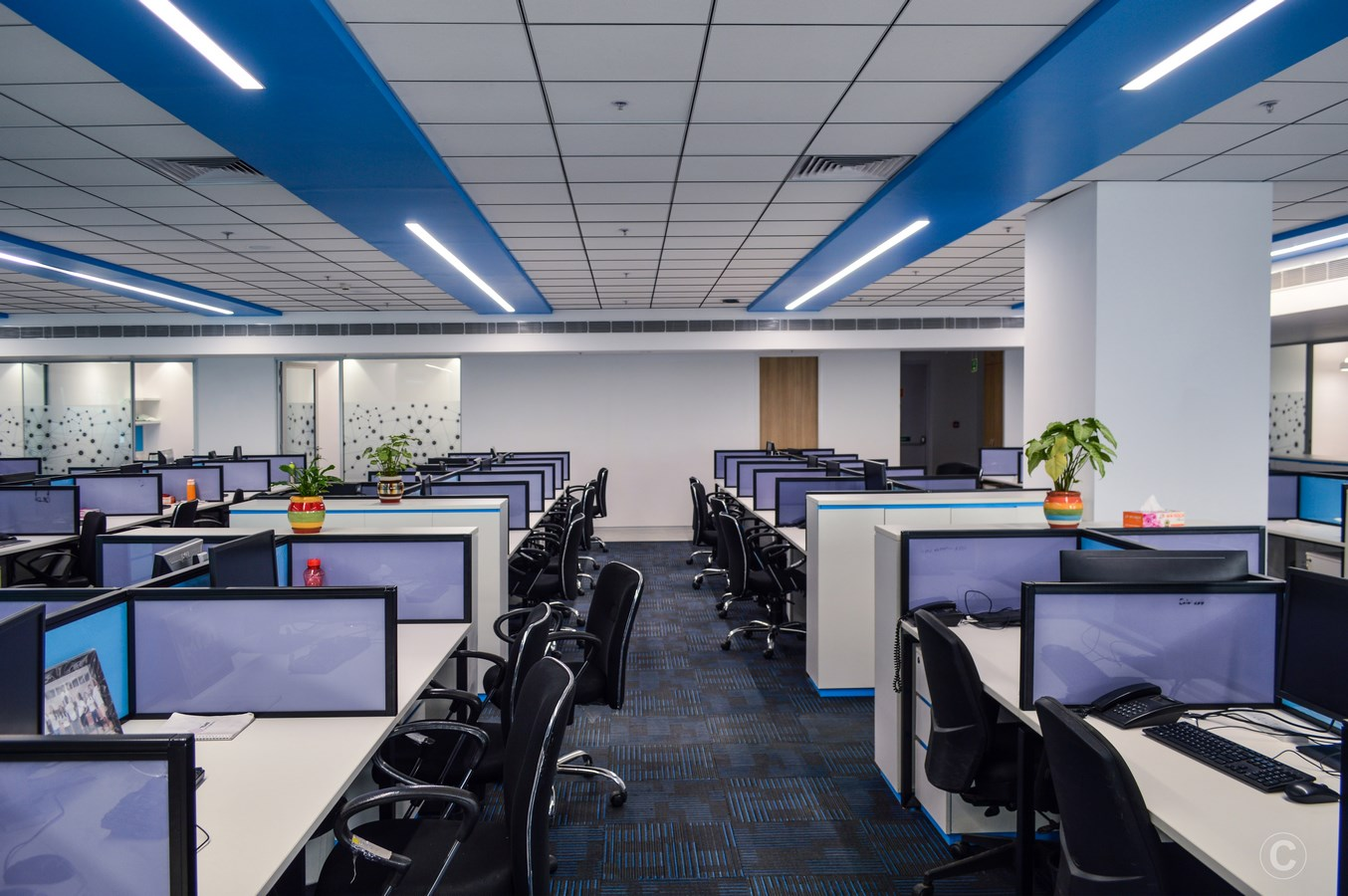 Tejas Networks Corporate Office Interiors By Myspace Architects