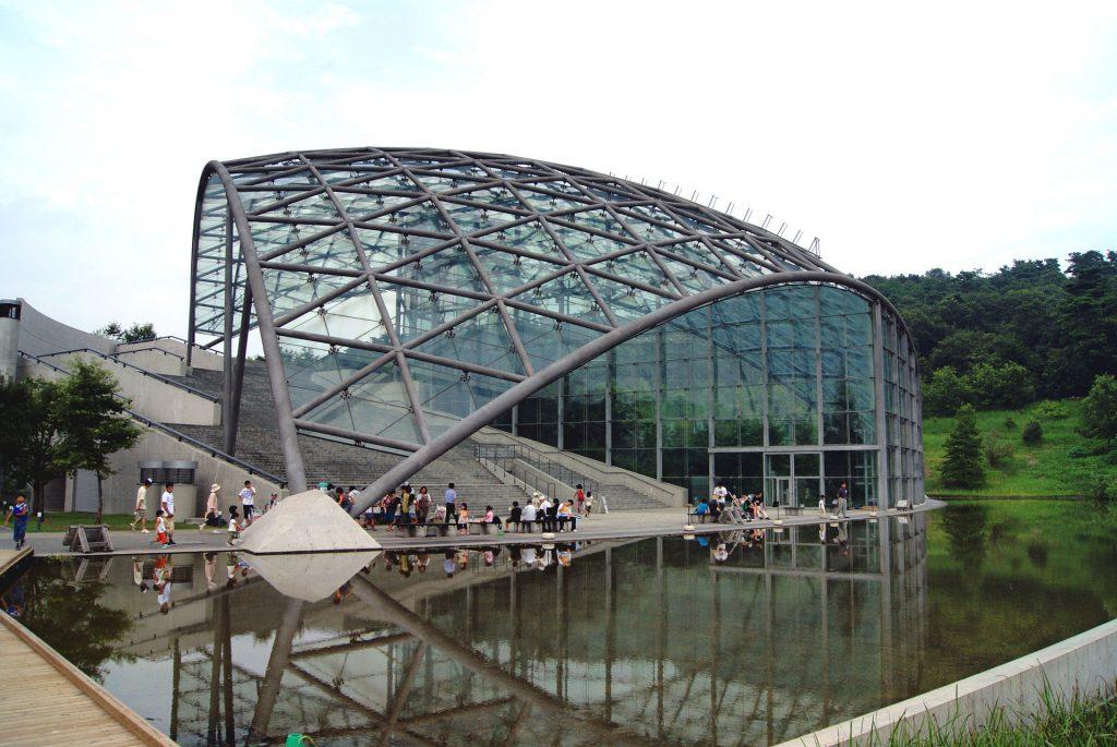 Glasshouse of Gunma Insect World