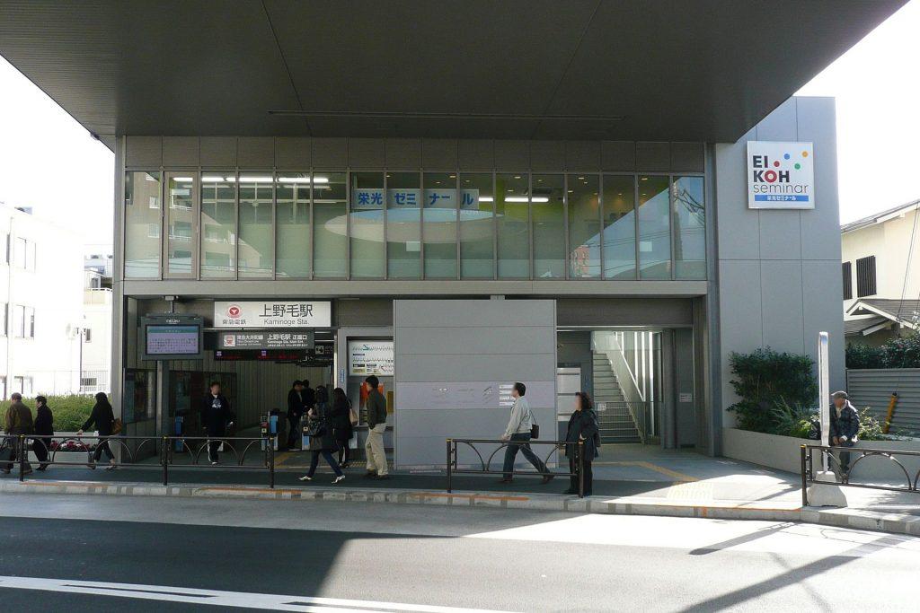 Kaminoge Station Central
