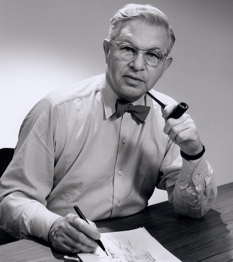 50 Famous Architects in the World of all Time - Arne Jacobsen