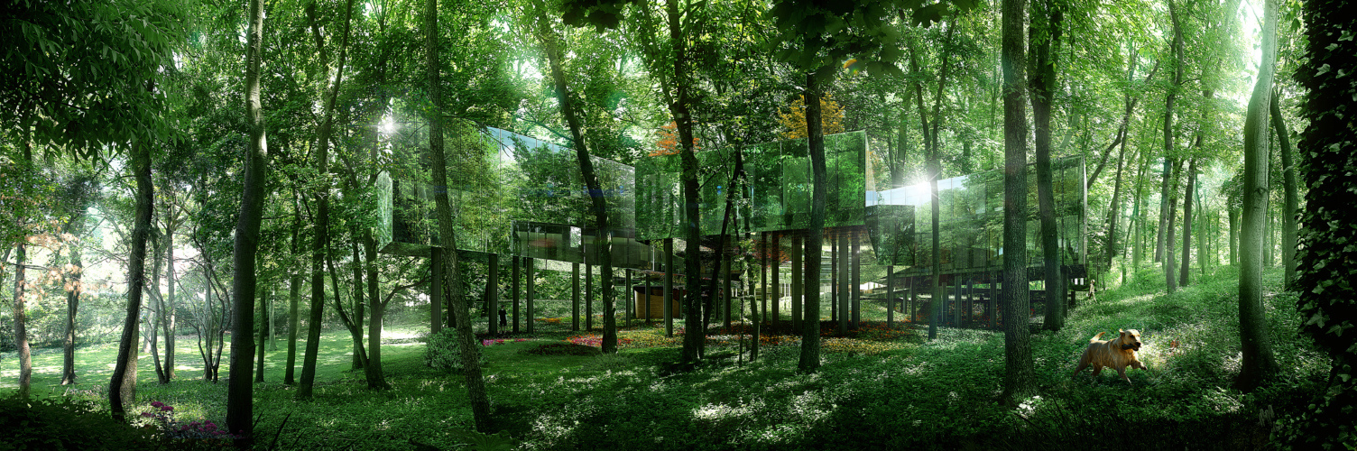 15 Works of REX Architecture Every Architect must know about - The Necklace Residence, New York