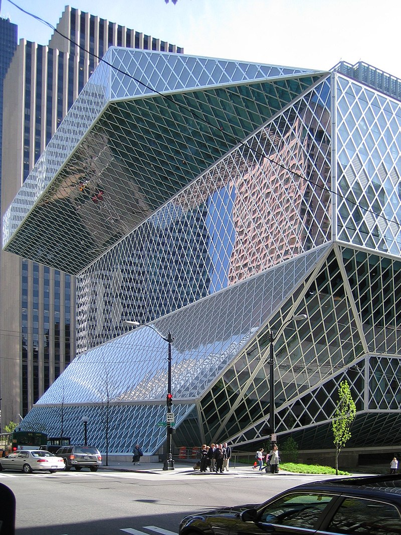 15 Works of REX Architecture Every Architect must know about - Seattle Central Library