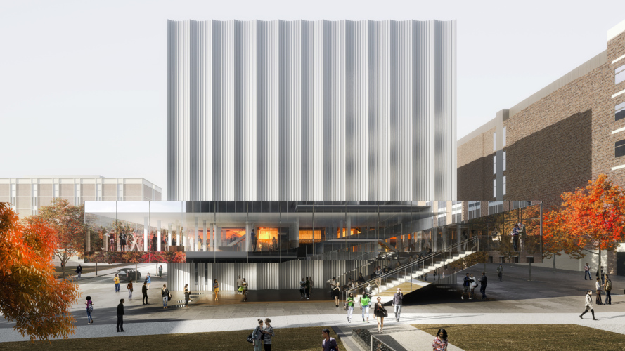 15 Works of REX Architecture Every Architect must know about - Brown University Performing Arts Center, France