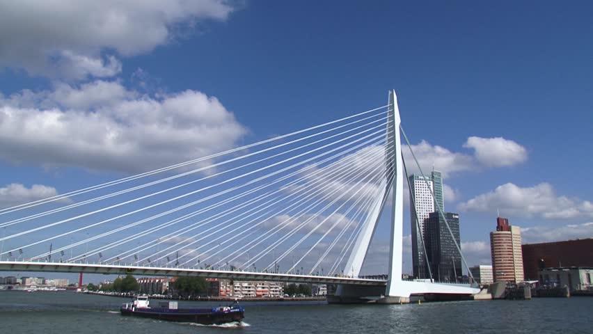 Ben Van Berkel - Erasmus Bridge, Netherlands