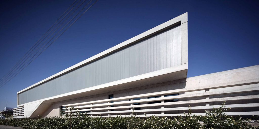 Co Op Bank in Kiti by Amsa © Archdaily