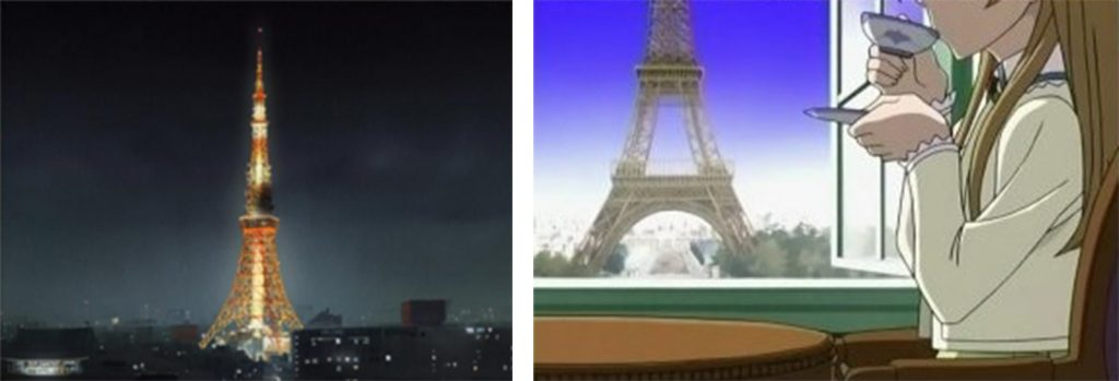 The Use of Architecture in Anime - Sheet1