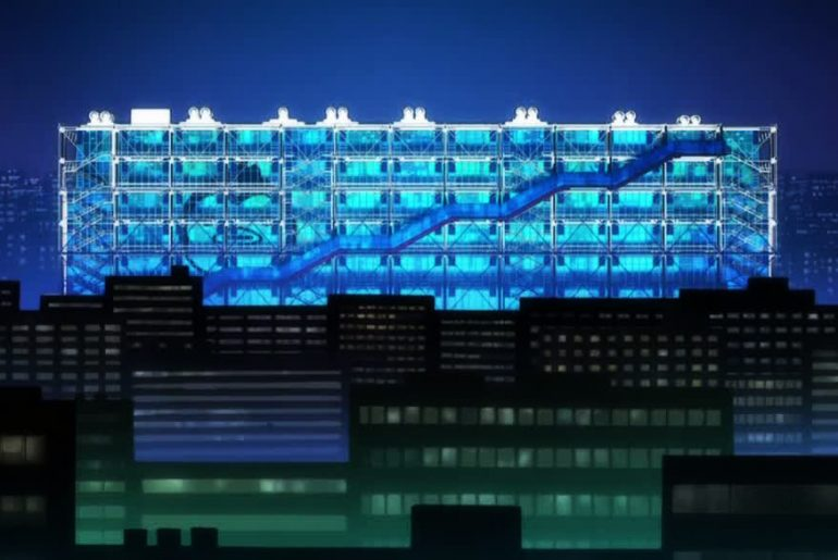 The Use of Architecture in Anime.