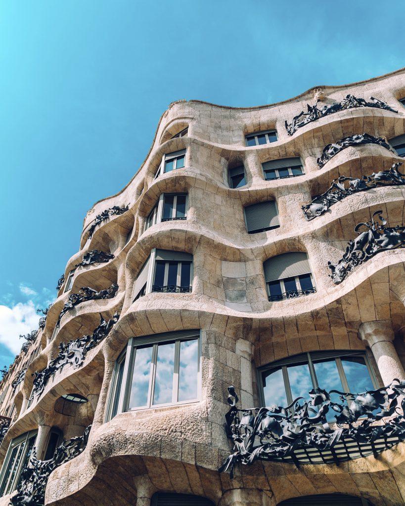 Modernist legacy of Barcelona.
