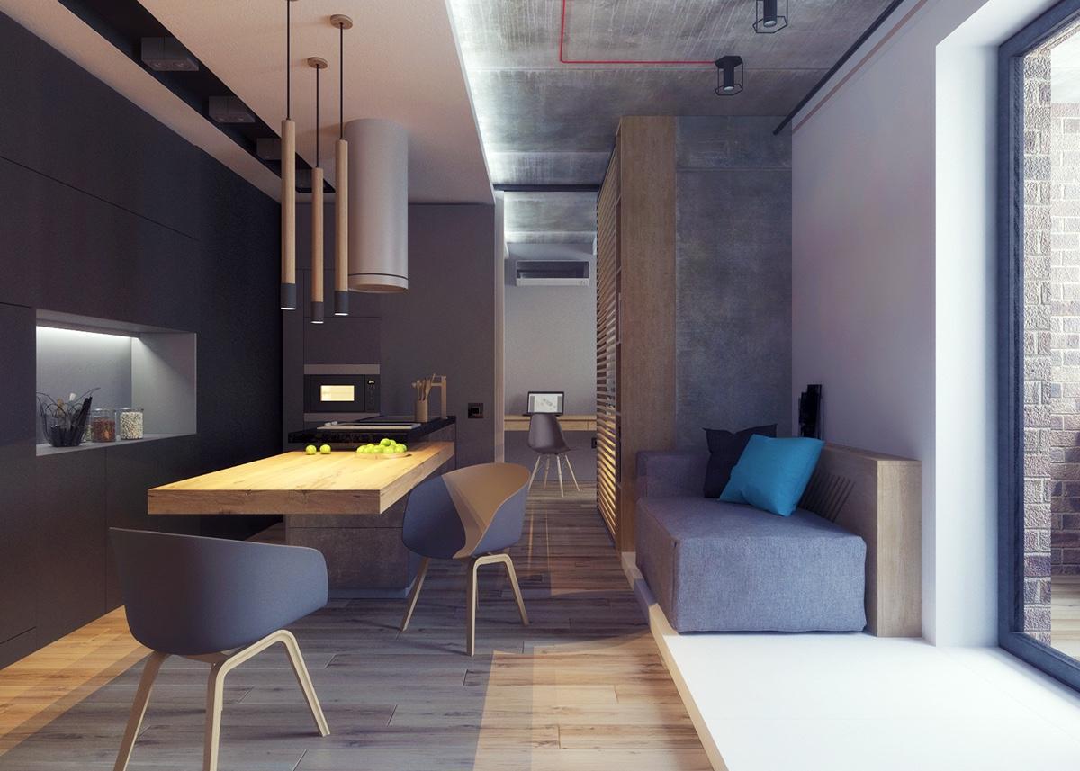 50 Brilliant House Interior Design Projects for your inspiration - Nikita Bulatov