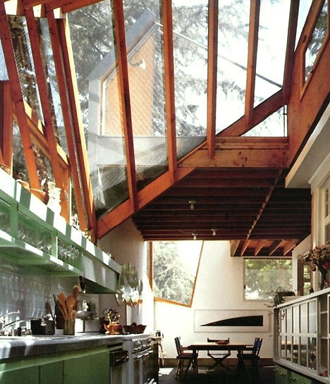 HOUSE BY FRANK GEHRY, EXTERIOR AND INTERIOR
