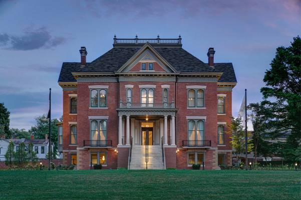 15 Most Beautiful Georgian Mansions - ILLINOIS GOVERNOR'S MANSION1