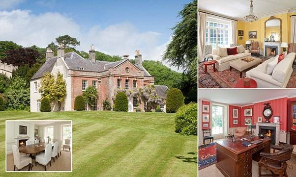 15 MOST BEAUTIFUL GEORGIAN MANSIONS - BUCKLAND NEWTON PLACE