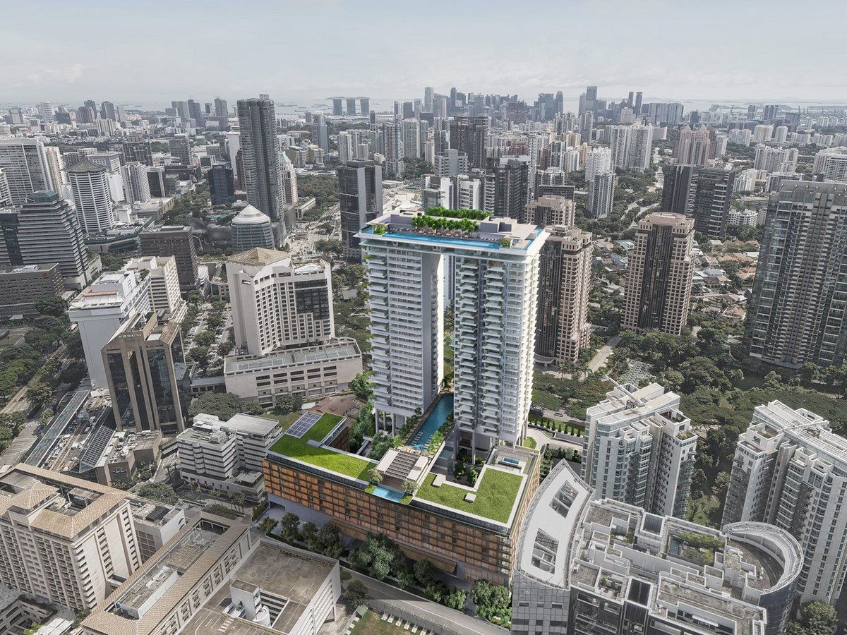 20 Iconic Projects by Moshe Safdie every Architect should know about - Orchard Boulevard Singapore,2021 - Sheet1