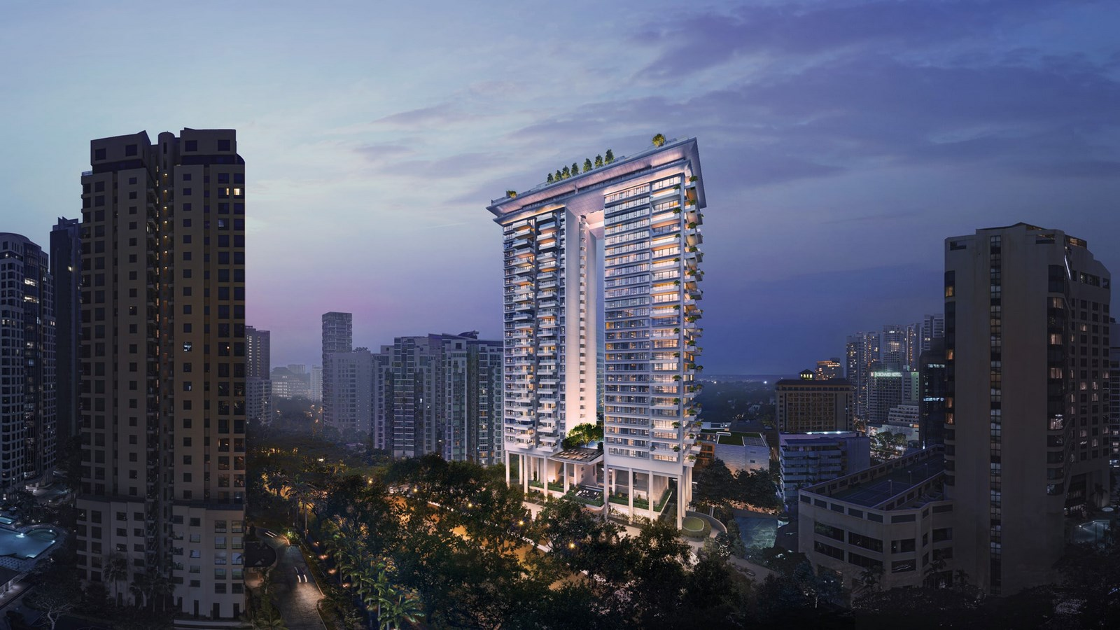 20 Iconic Projects by Moshe Safdie every Architect should know about - Orchard Boulevard Singapore,2021 - Sheet2
