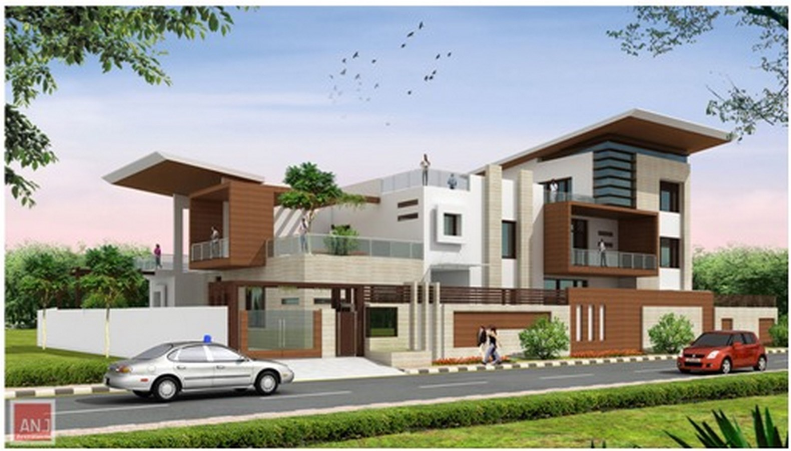 Top 50 Architecture Firms in Gurugram India - architect in gurgaon sector 14 - ANJ Architects