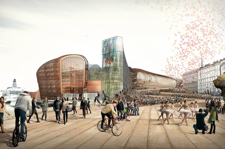15 Works of B. V. Doshi Every Architect should visit - Guggenheim Museum, Finland