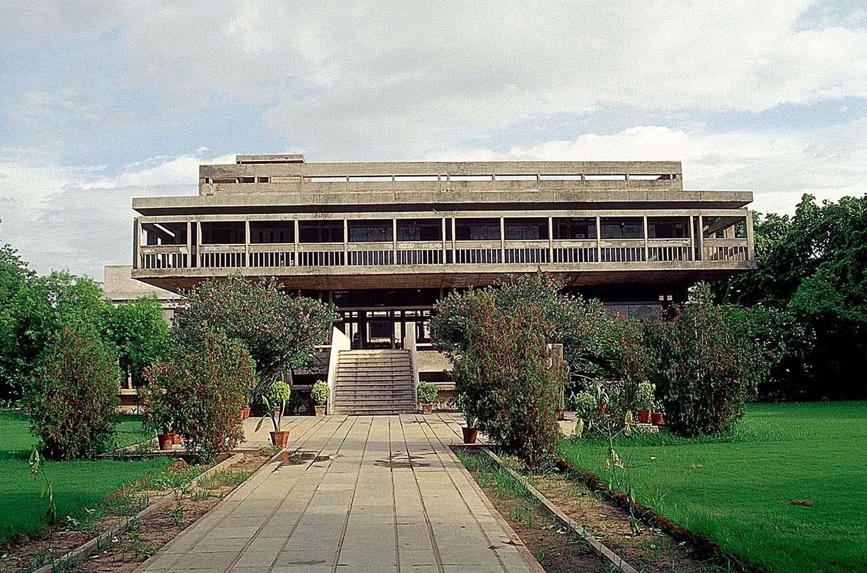 15 Works of B. V. Doshi Every Architect should visit - Institute of Indology, India