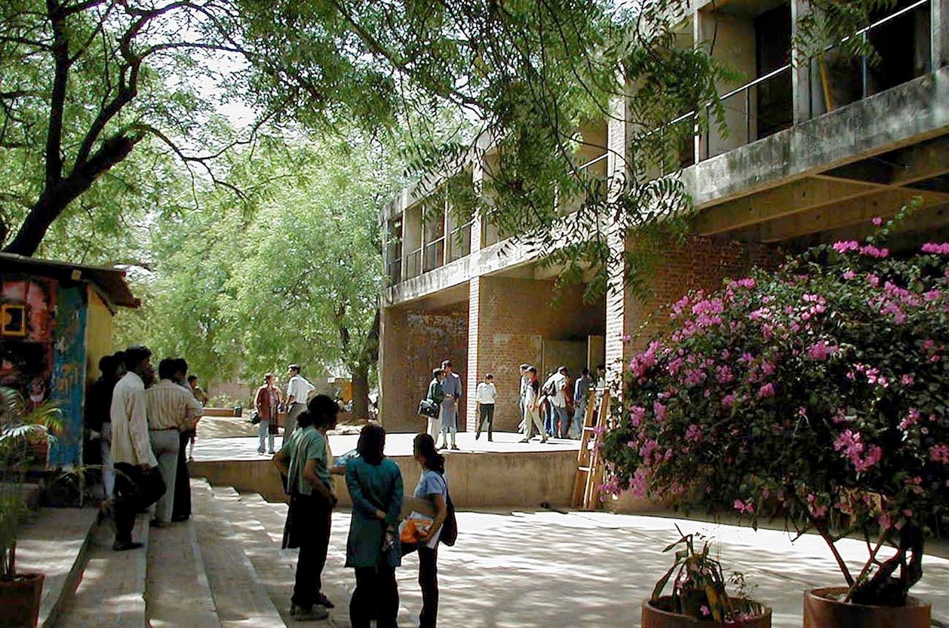 15 Works of B. V. Doshi Every Architect should visit - School of Architecture, CEPT, India