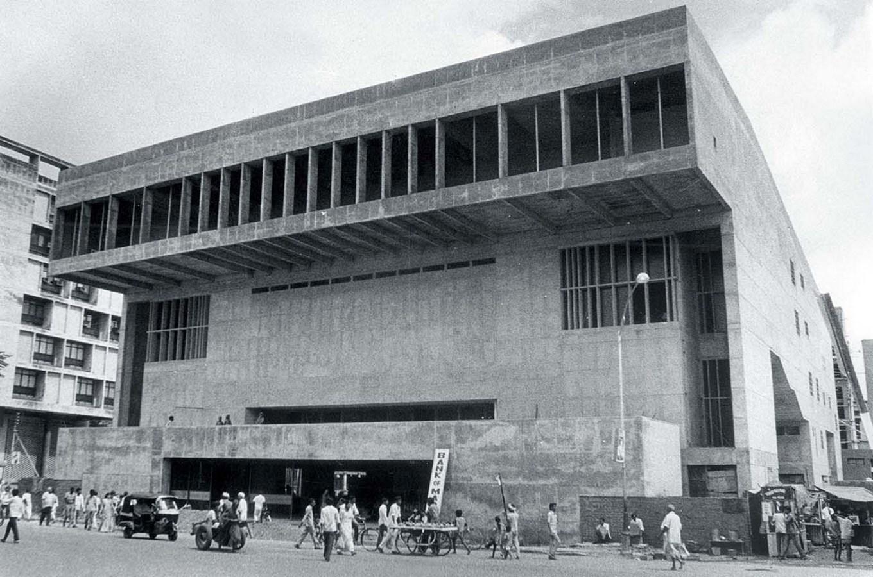 15 Works of B. V. Doshi Every Architect should visit - Premabhai Hall, India