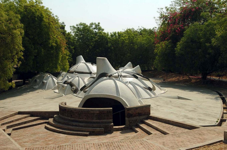 15 Works of B. V. Doshi Every Architect should visit - Amdavad Ni Gufa, India