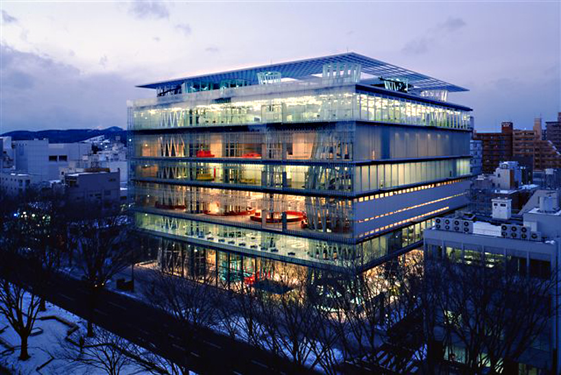 Top Architecture Firms on choosing the structural system for their projects - Toyo Ito1