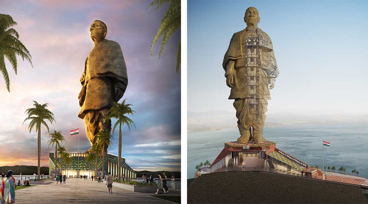 15 Most Important Projects by Michael Graves - The Statue of Unity, India
