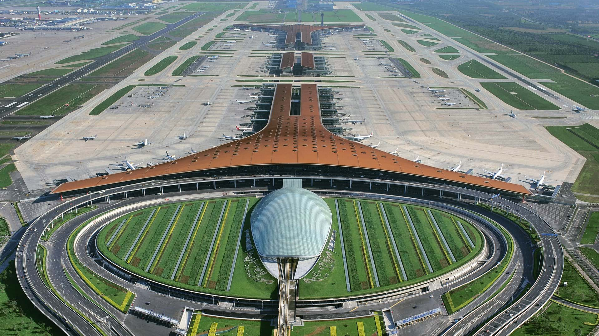 25 Projects by Norman Foster that made him a leader in the Architecture Industry - Beijing Capital International Airport, China