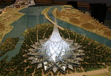 25 Projects by Norman Foster that made him a leader in the Architecture Industry - Crystal Island, Russia