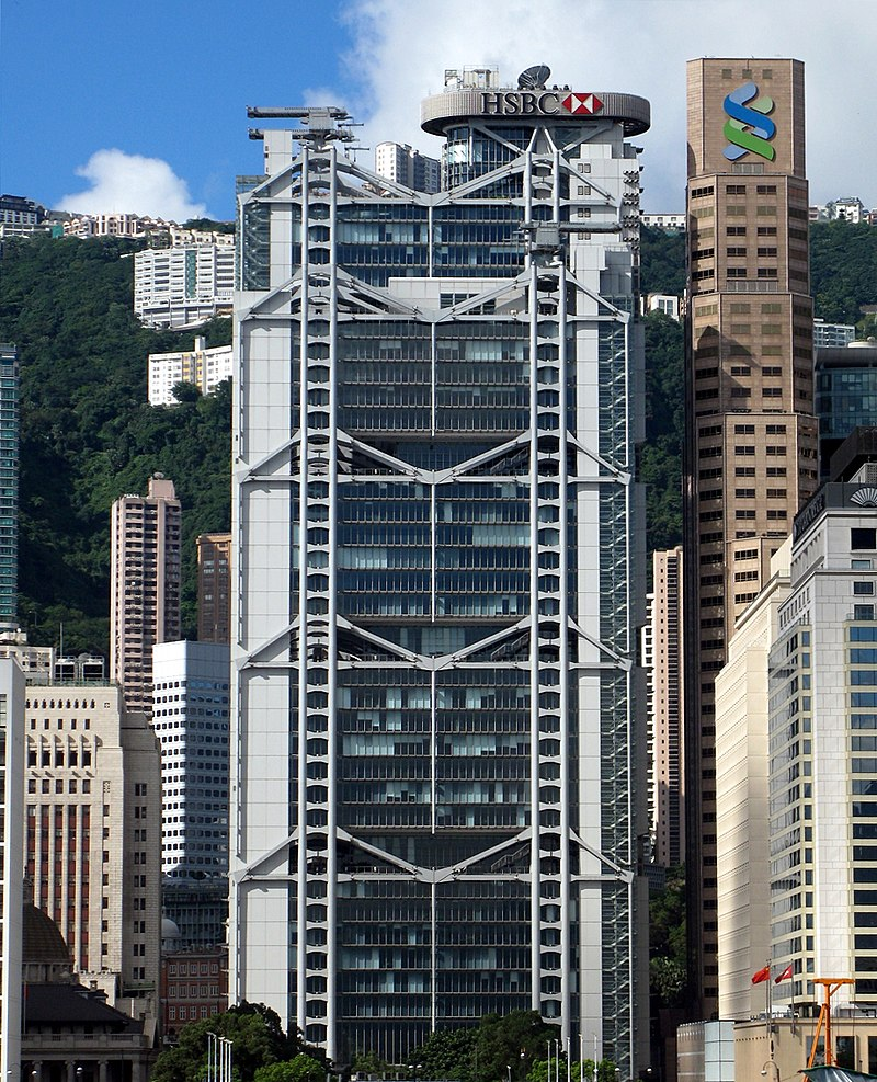 25 Projects by Norman Foster that made him a leader in the Architecture Industry - HSBC Main Building, Hong Kong