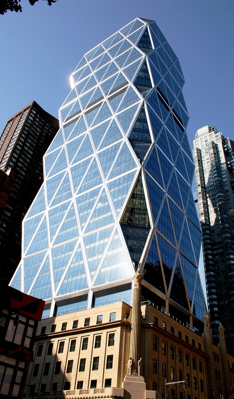 25 Projects by Norman Foster that made him a leader in the Architecture Industry - Hearst Tower, New York