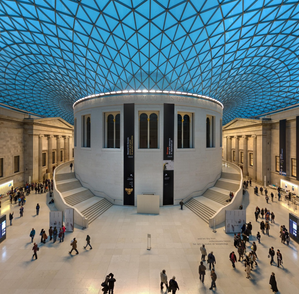 25 Projects by Norman Foster that made him a leader in the Architecture Industry - Great Court of British Museum, UK