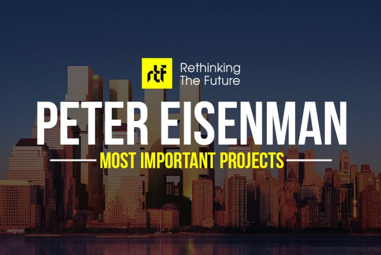 15 Works of Peter Eisenman Every Architect should visit