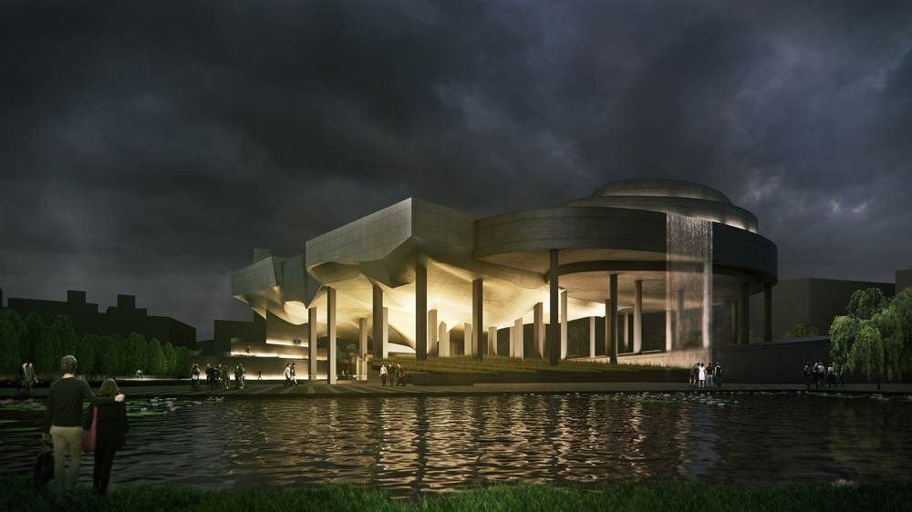 15 Works of Peter Eisenman Every Architect should visit - Taichung City Cultural Centre, Taiwan