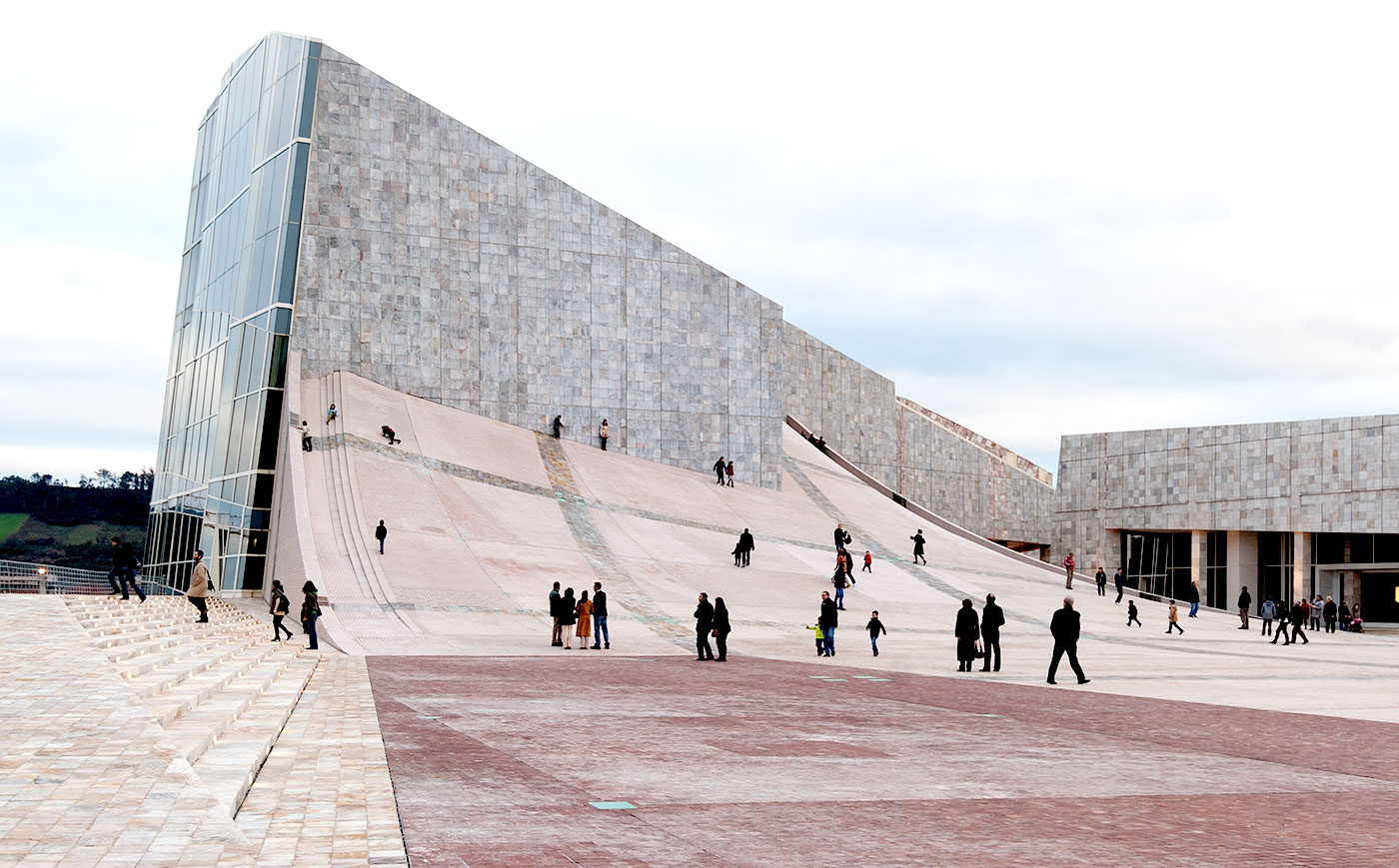 15 Works of Peter Eisenman Every Architect should visit - City of Culture of Galicia, Spain