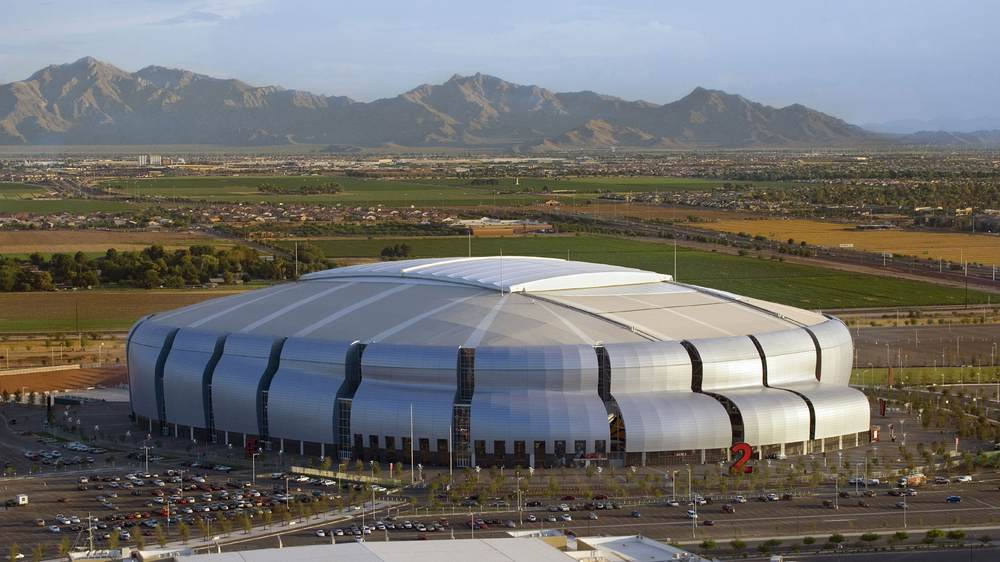 15 Works of Peter Eisenman Every Architect should visit - State Farm Stadium (University of Phoenix Stadium), Arizona