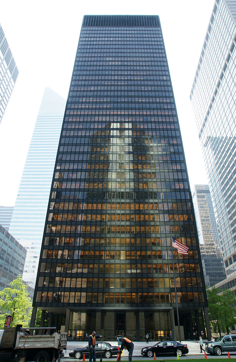 15 Works of Philip Johnson Every Architect should visit - Seagram Building, US