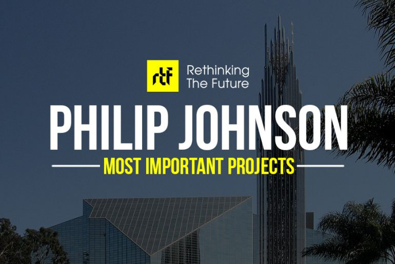 15 Works of Philip Johnson Every Architect should visit